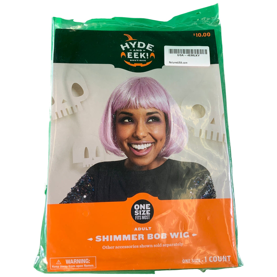 Shimmer Bob Wig - Hyde And Eek! Boutique