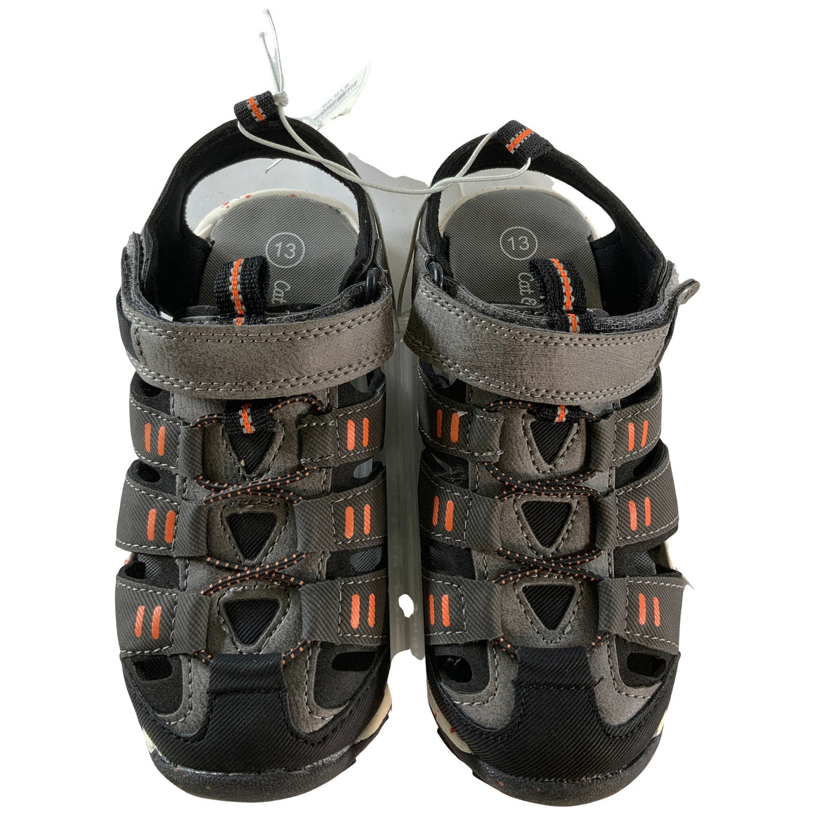Boys' Lowell Hiking Sandals - Charcoal 13 - Cat & Jack™