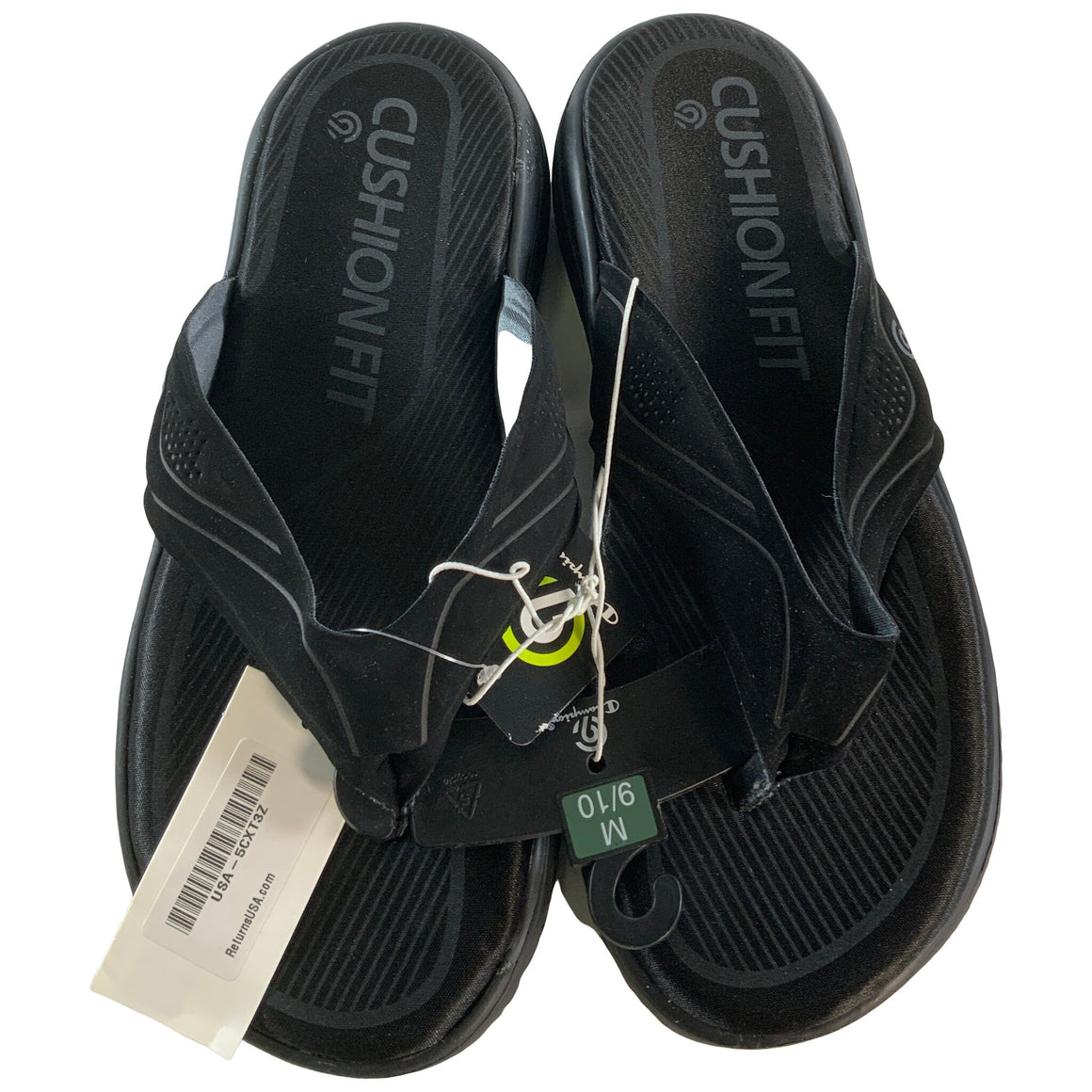 Men'S Luke Thong Sandals - Black - C9 Champion®
