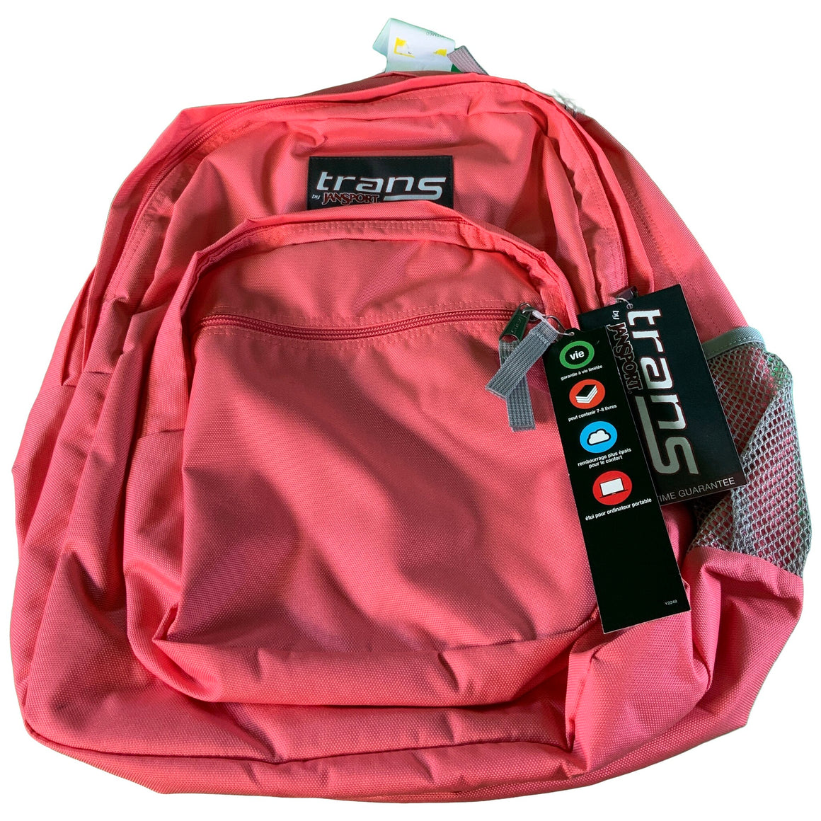 "17"" Supermax Backpack - Guava Pink - Trans By Jansport"