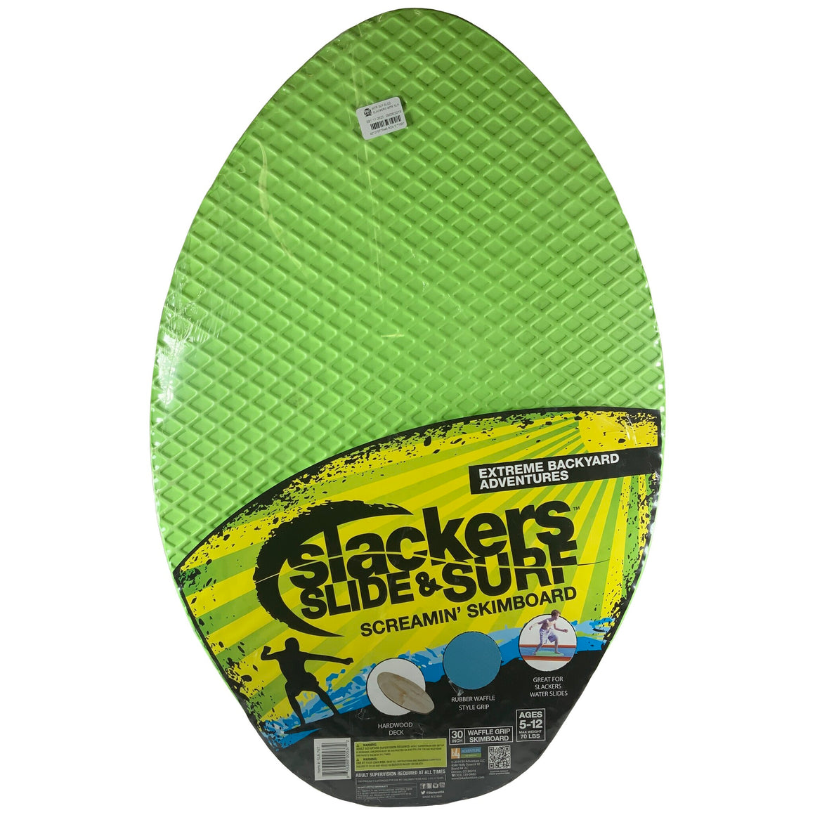 Slackers Slide And Surf - Screamin Skimboard
