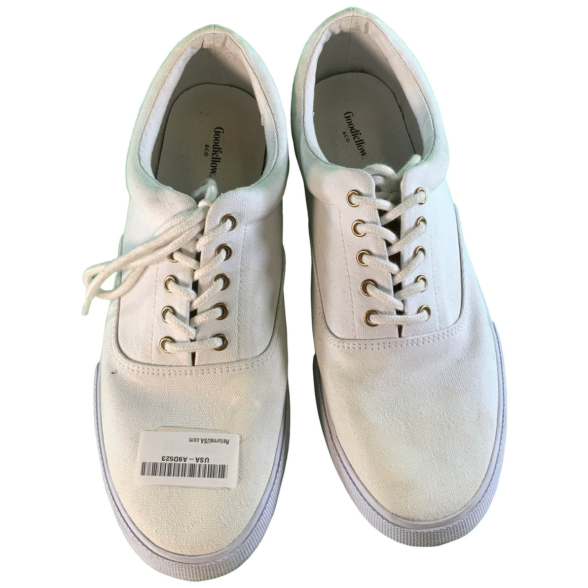 Men'S Park Sneakers - White 12 - Goodfellow & Co™