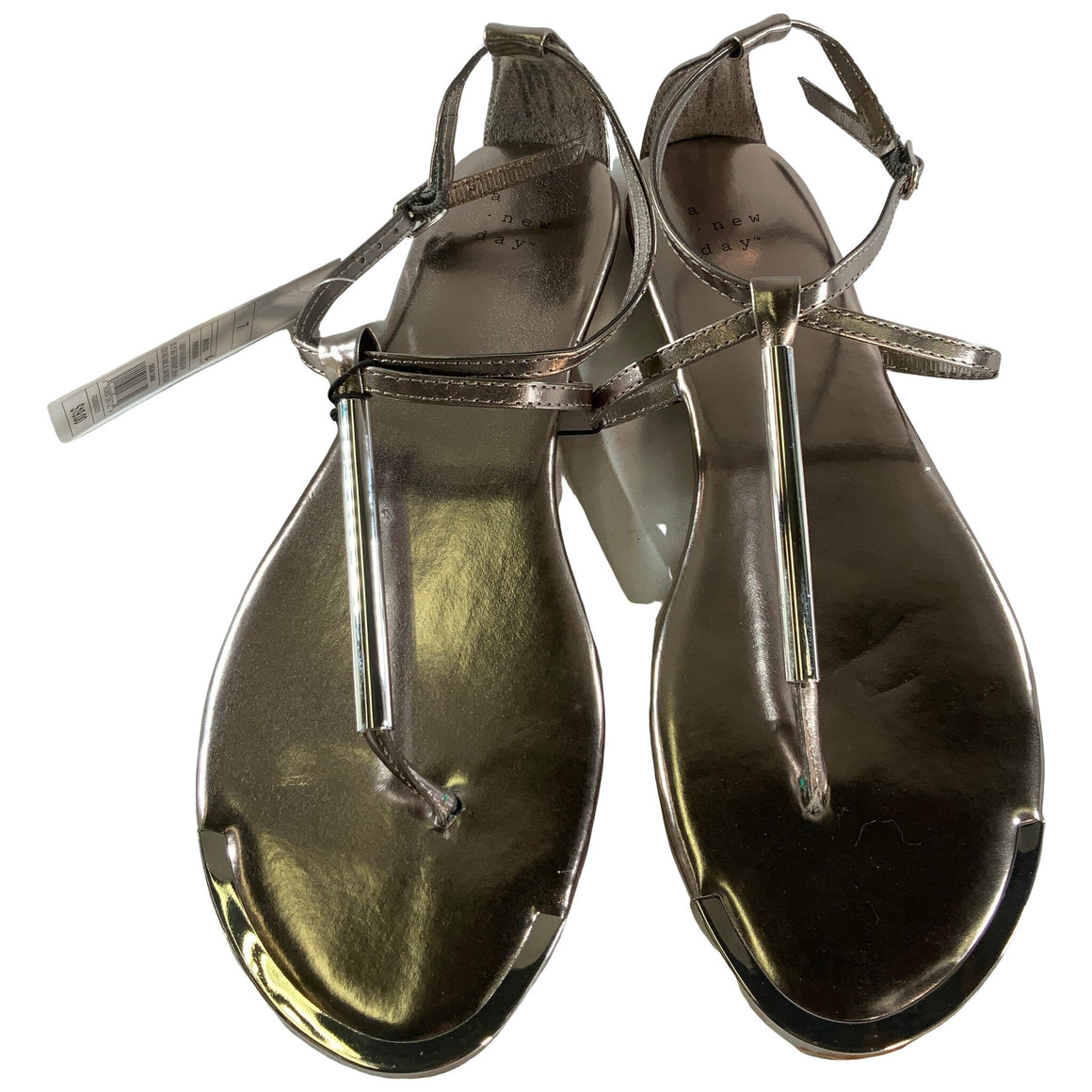 Archer T Strap Thong Sandals - Pewter 7.5 - A New Day™