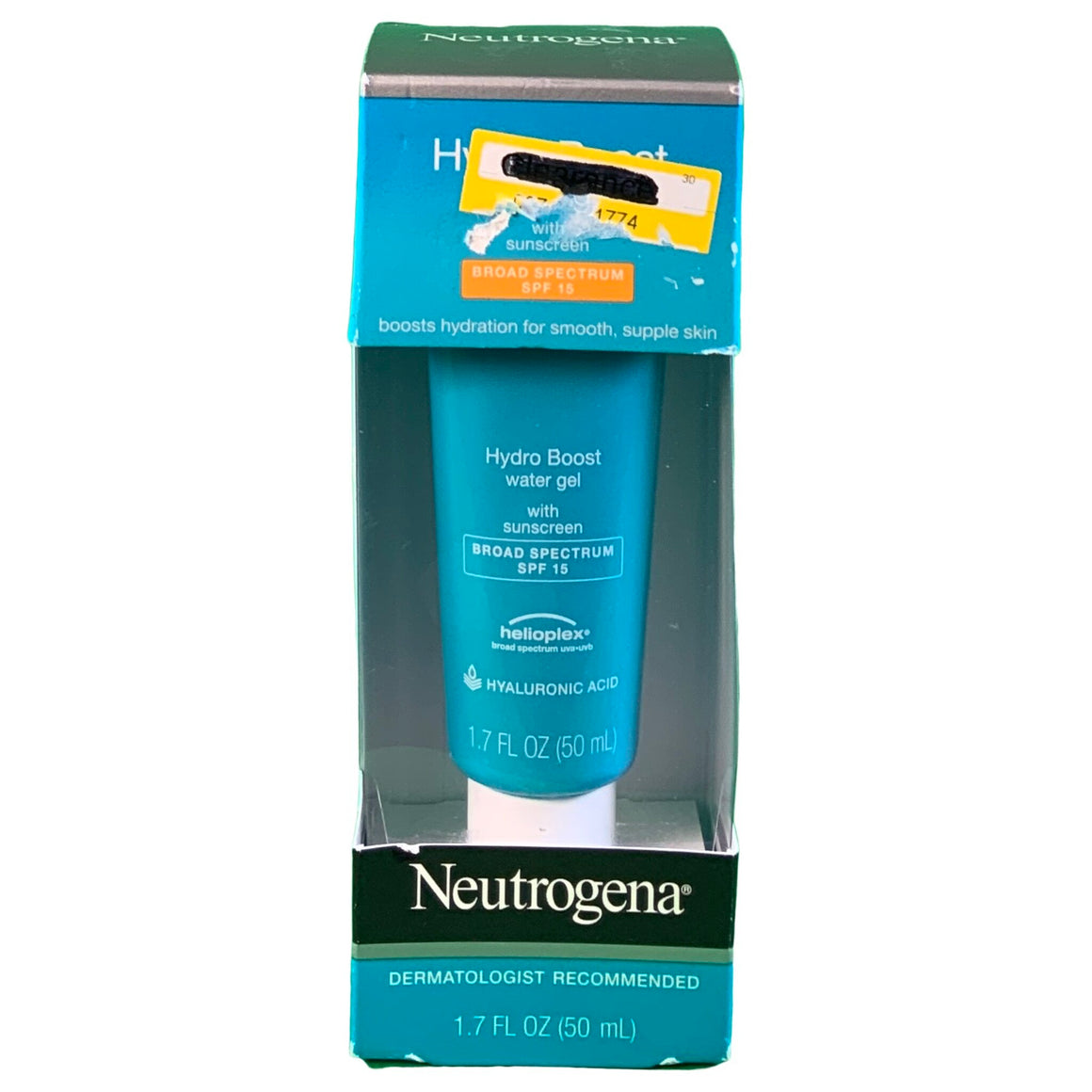 Neutrogena Hydro Boost Hyaluronic Acid Gel Face Cream - Neutrogena