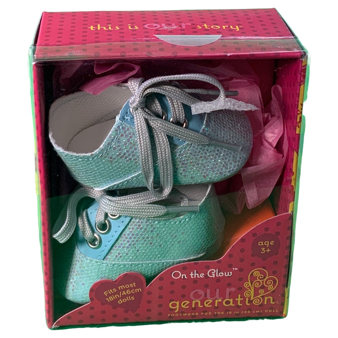 Our Generation Doll Shoes On The Glow -