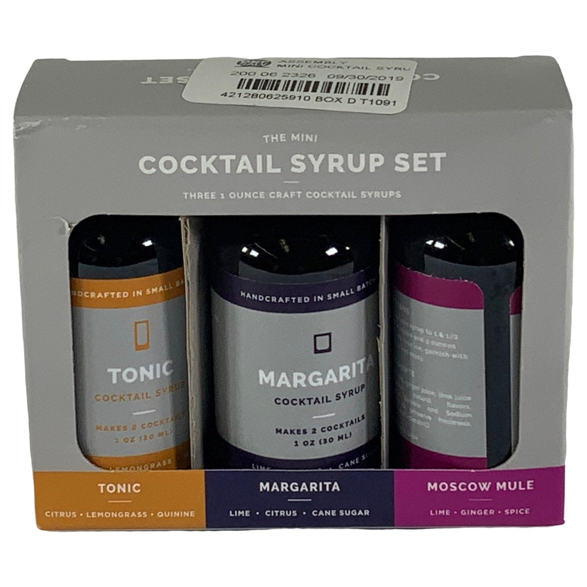 The Mini - Cocktail Syrup Set