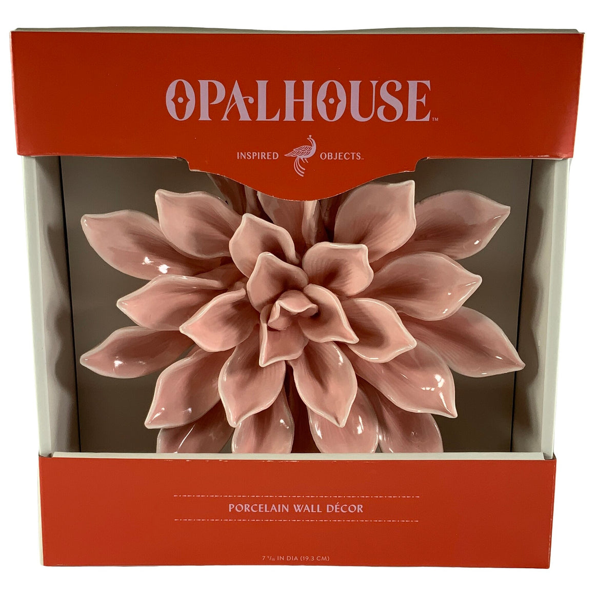 Opalhouse™ - Porcelain Flower Decorative Wall Sculpture - Opalhouse™