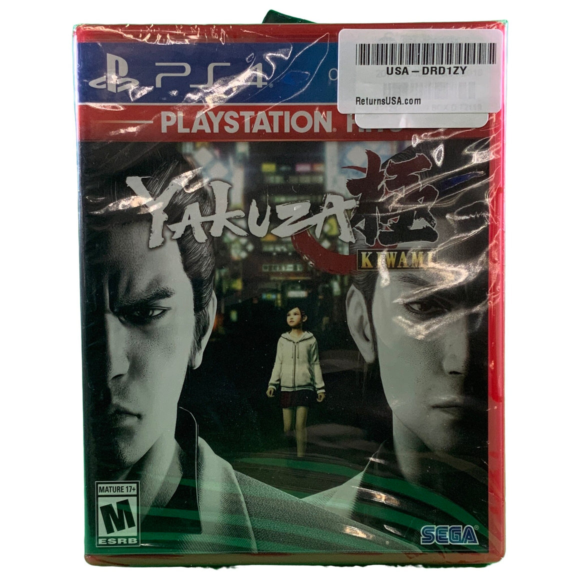 Yakuza Kiwami - Playstation Hits, Sega, Playstation 4, -