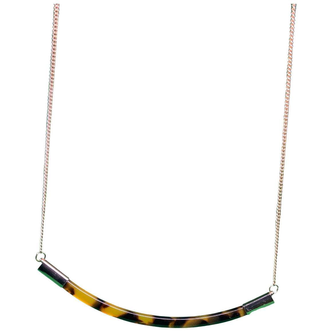 Necklace - Tortoise/Gold, Women'S - A New Day
