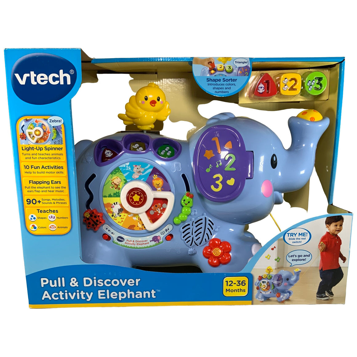 Vtech - Pull & Discover Activity Elephant
