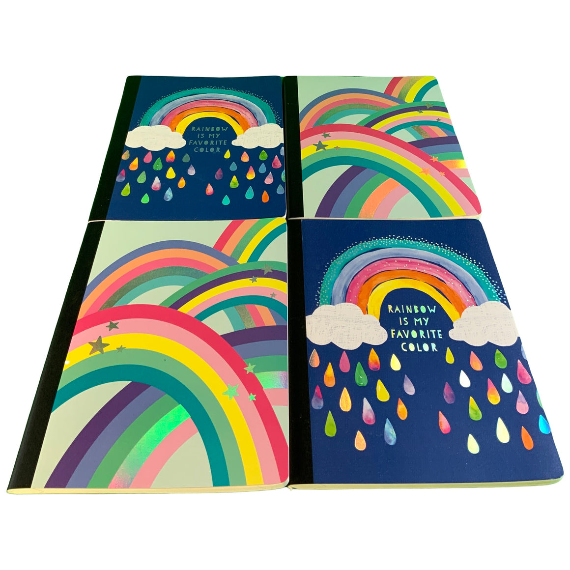 Composition Notebook - Rainbow Is My Favorite Color & Composition Notebook - Rainbow/Stars - Greenroom