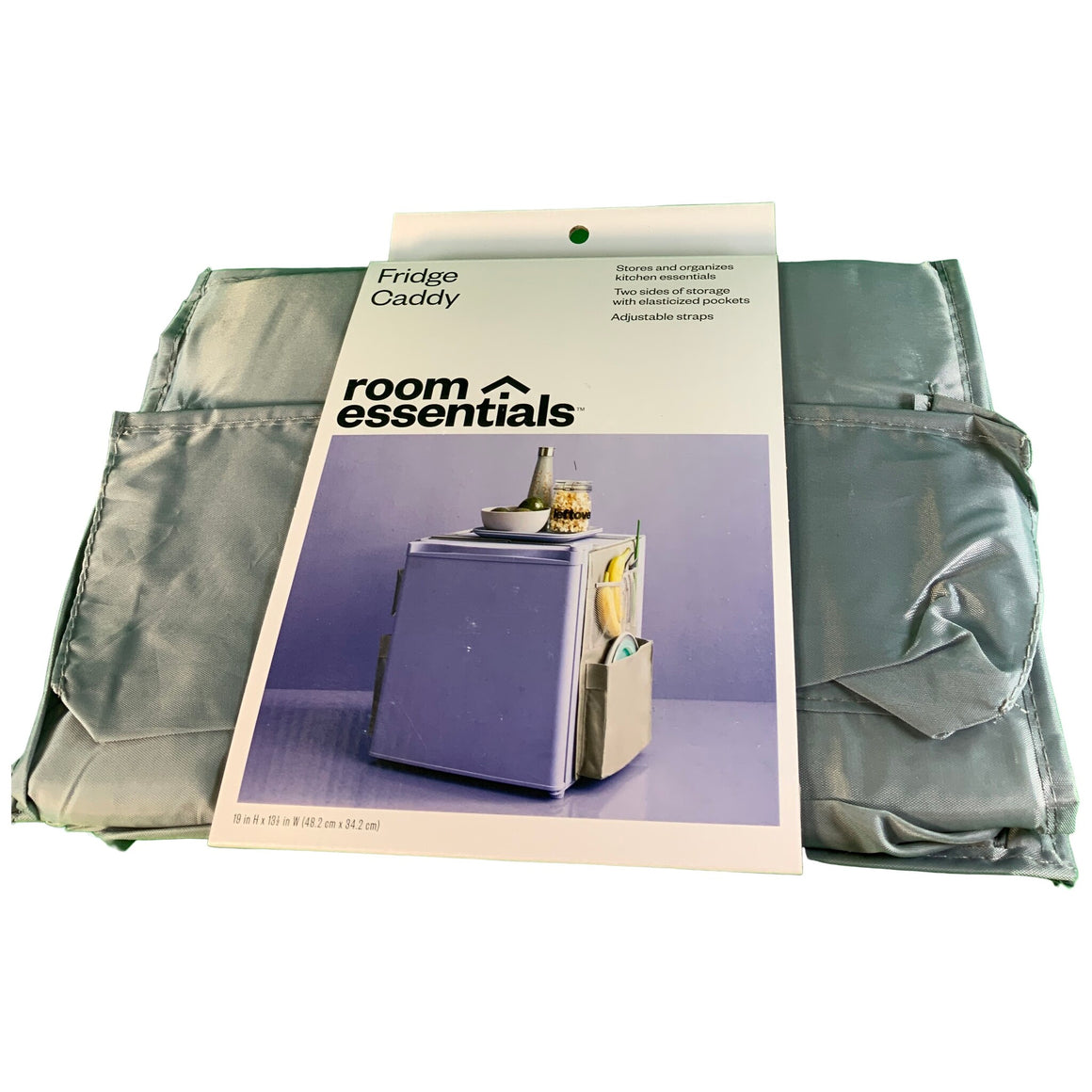 Fridge Caddy Storage Bag Gray - Room Essentials™