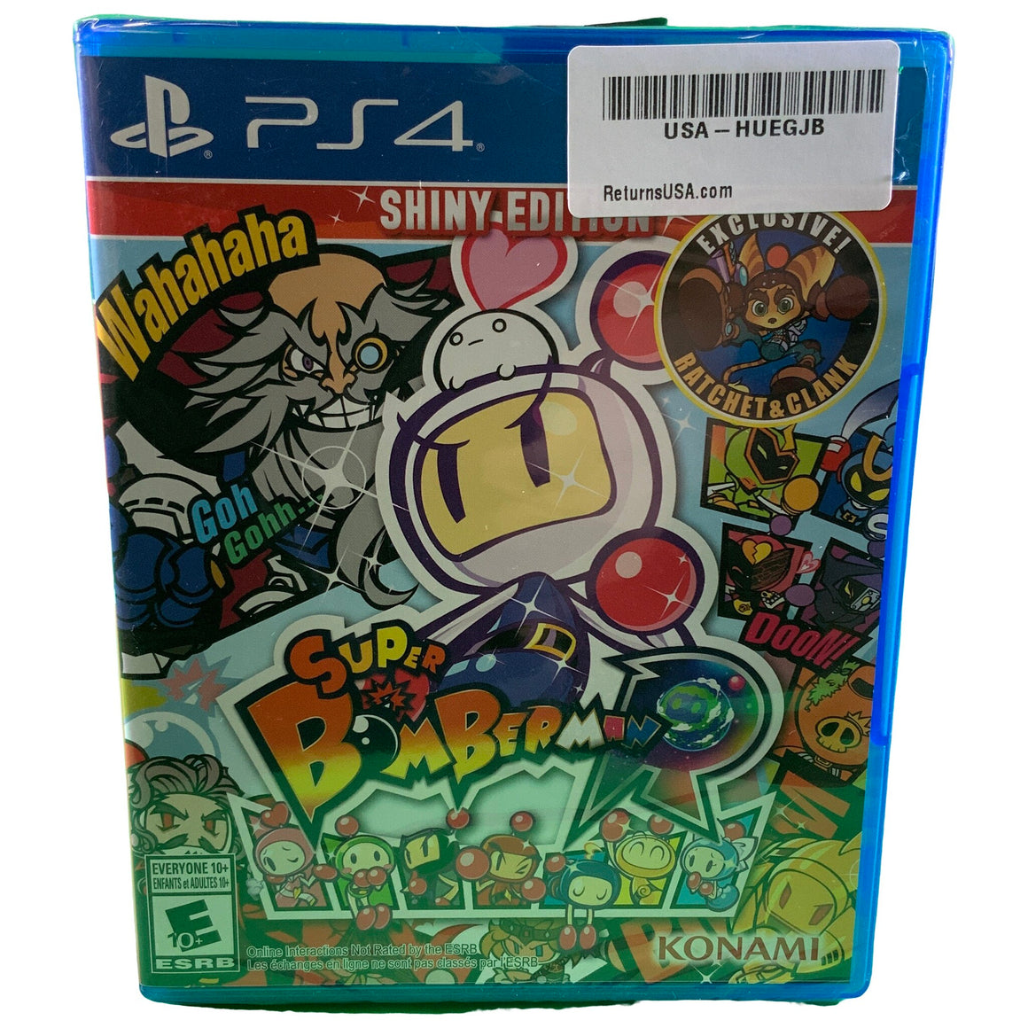 Super Bomberman R Playstation 4 Shiny Edition - Konami