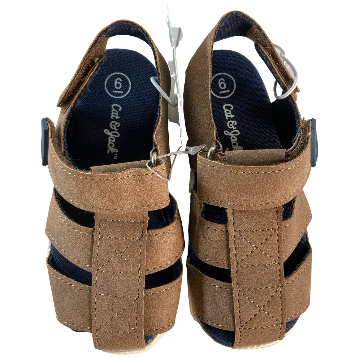 Toddler Boys' Herschel Fisherman Sandals - Brown 6 - Cat & Jack™