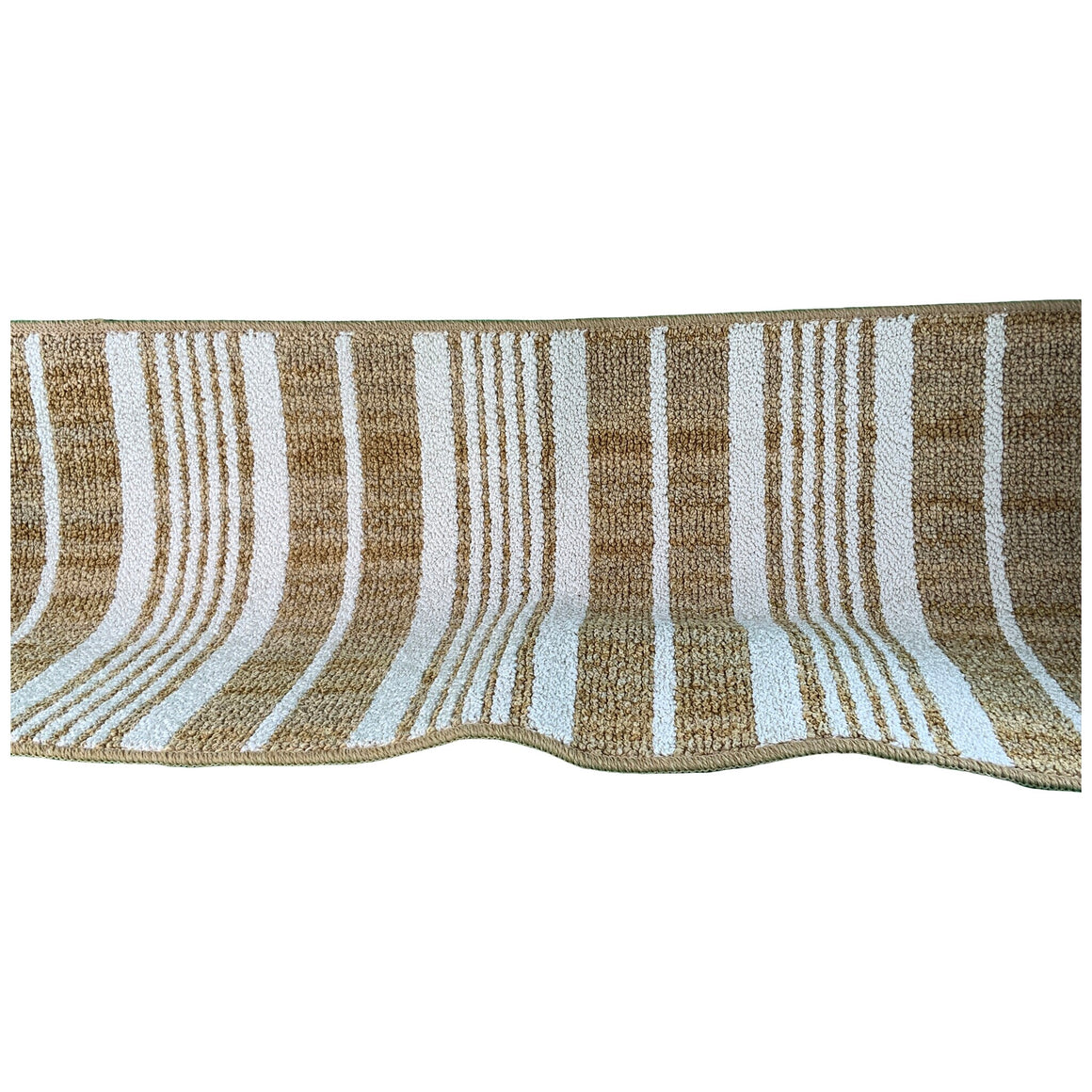 "2'6""X4' Stripe Tufted Accent Rugs Gold - Threshold"