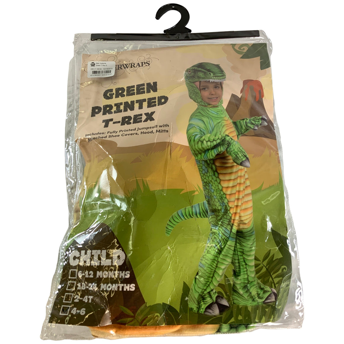 T-Rex Child Costume Xl - Underwraps