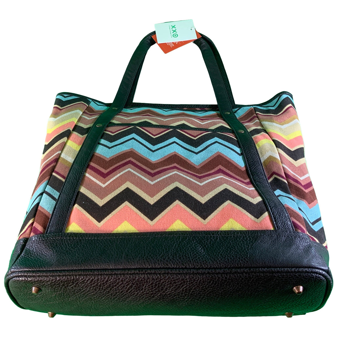 Colore Zig Zag Large Tote Handbag - Missoni For Target