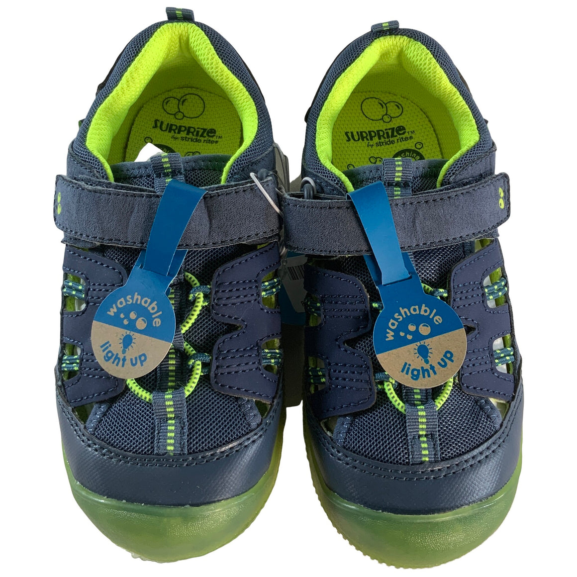 Toddler Boys' Josh Hiking Sandals - Blue 11 - Surprize By Stride Rite