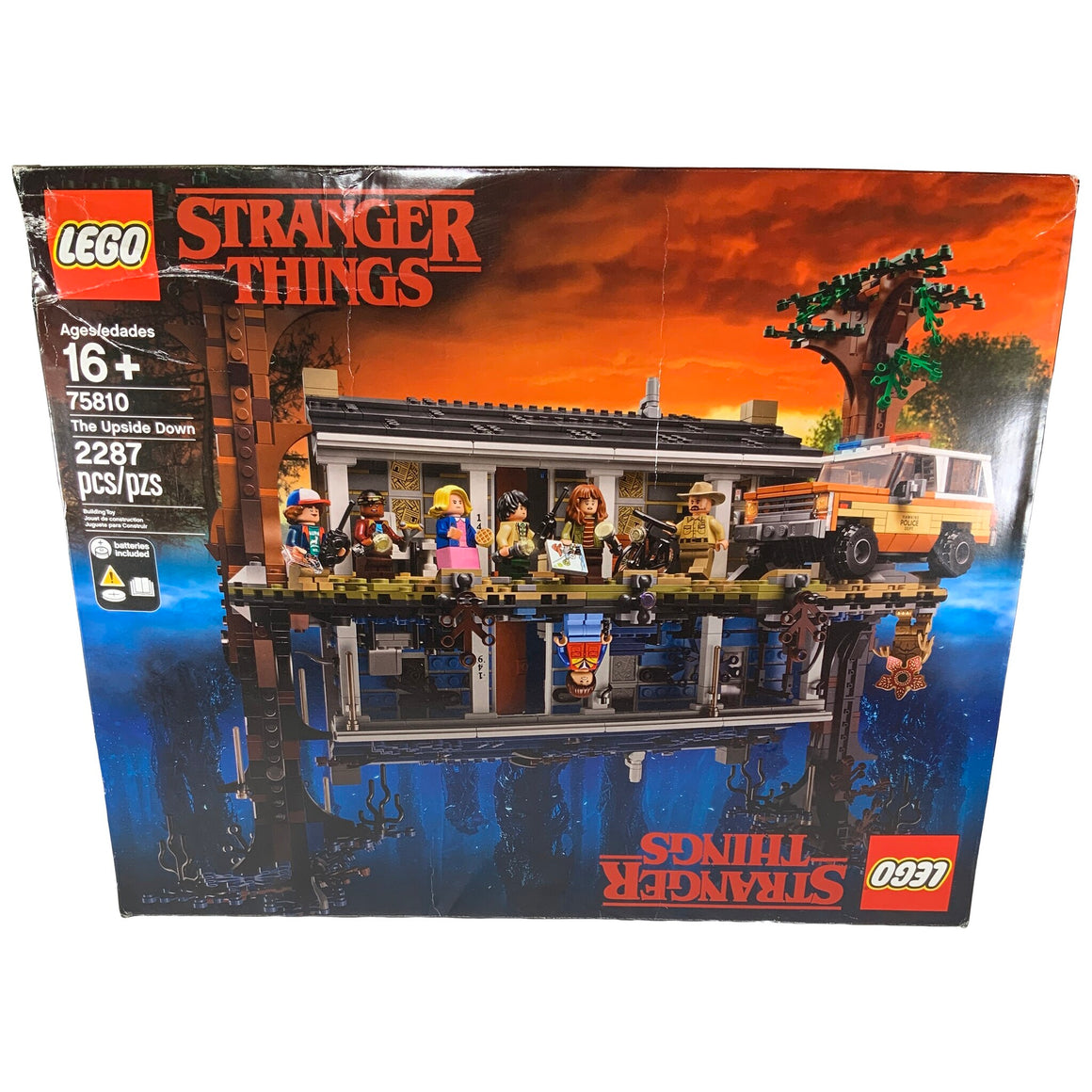 Lego - Stranger Things The Upside Down 2287 Pcs