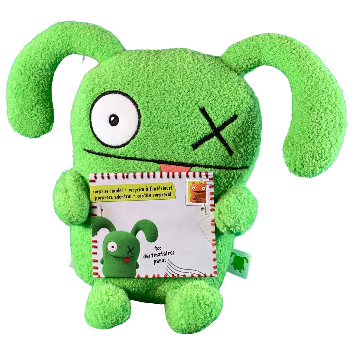 Jokingly Yours Ox Stuffed Plush Toy, 9.5 Inches Tall - Uglydolls