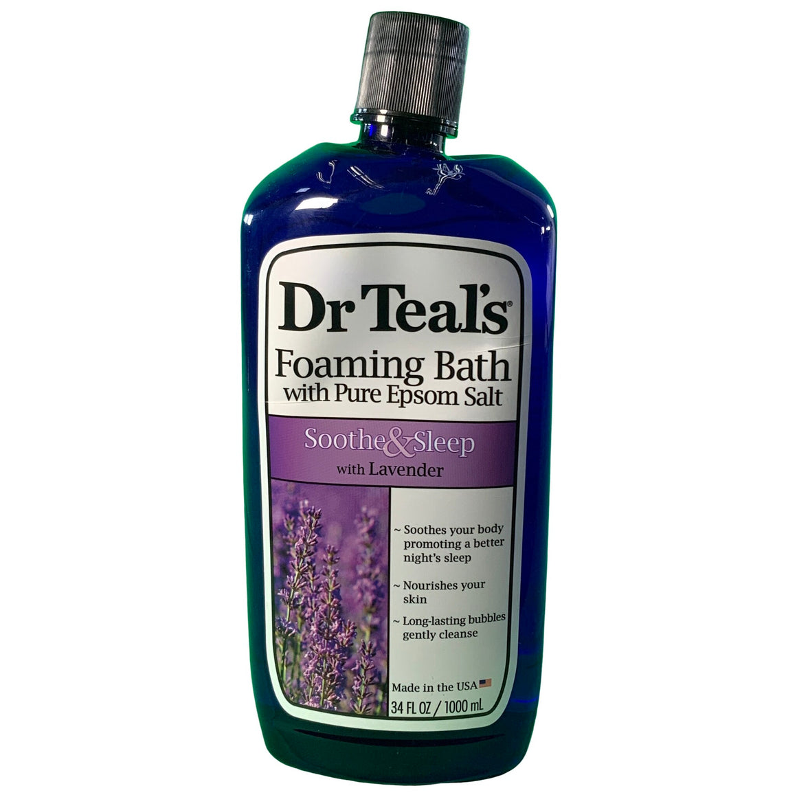 Foaming Bath, Soothe & Sleep With Lavender 34 Fl Oz - Dr. Teal'S