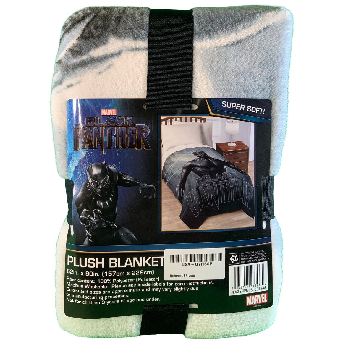 Black Panther Blanket - Marvel