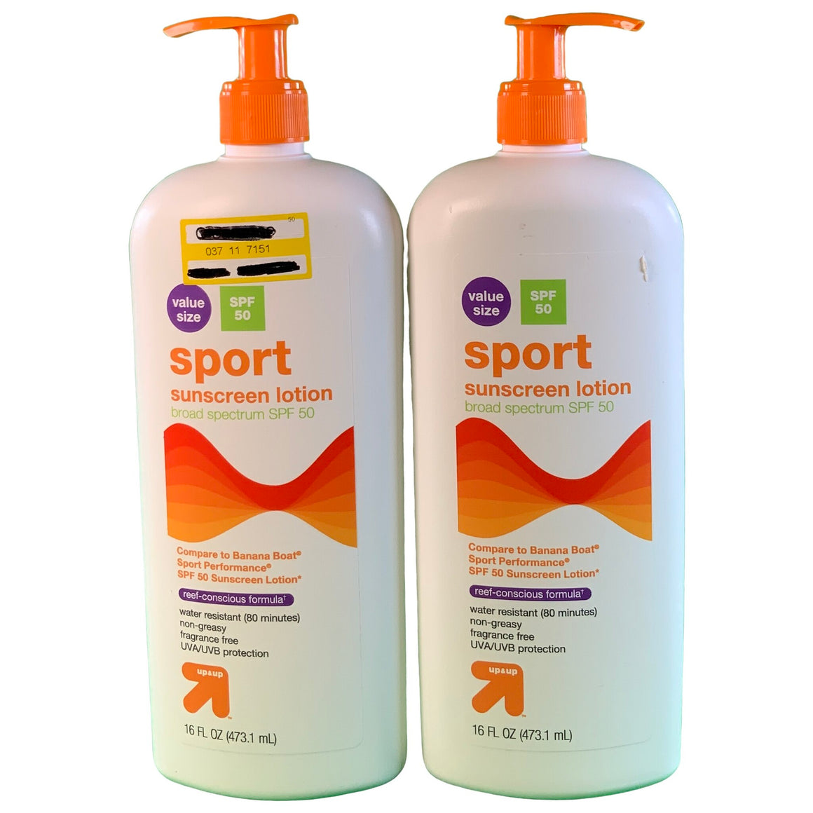 Sport Sunscreen Lotion - Spf 50 - 16 Fl Oz - Up&Up™