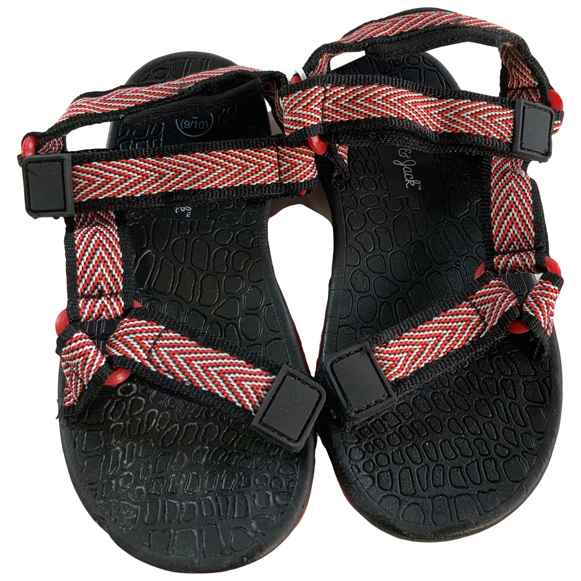 Toddler Boys' Teddy Hiking Sandals - Red L - Cat & Jack™