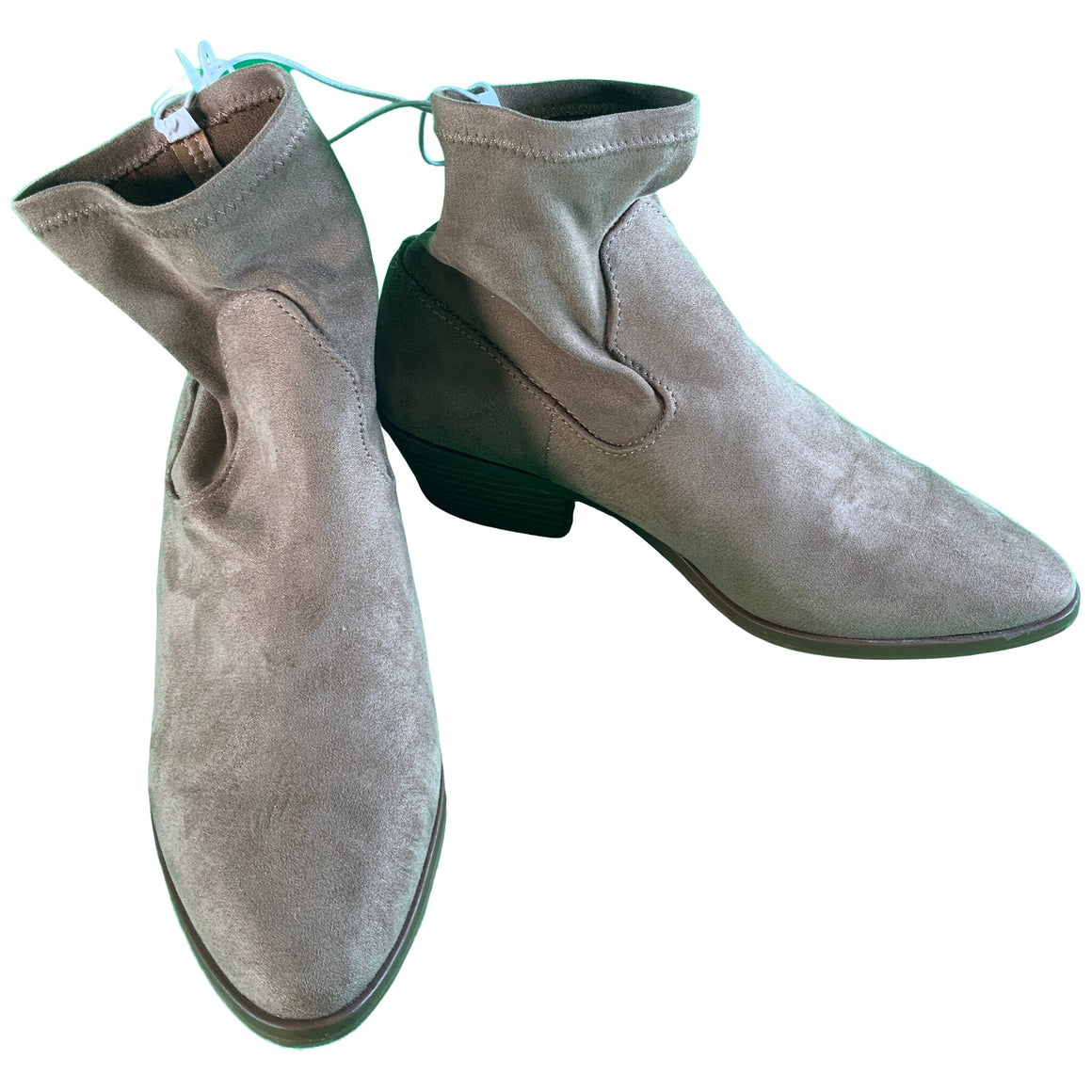 Loraine Western Sock Booties - Tan 7.5 - Universal Thread