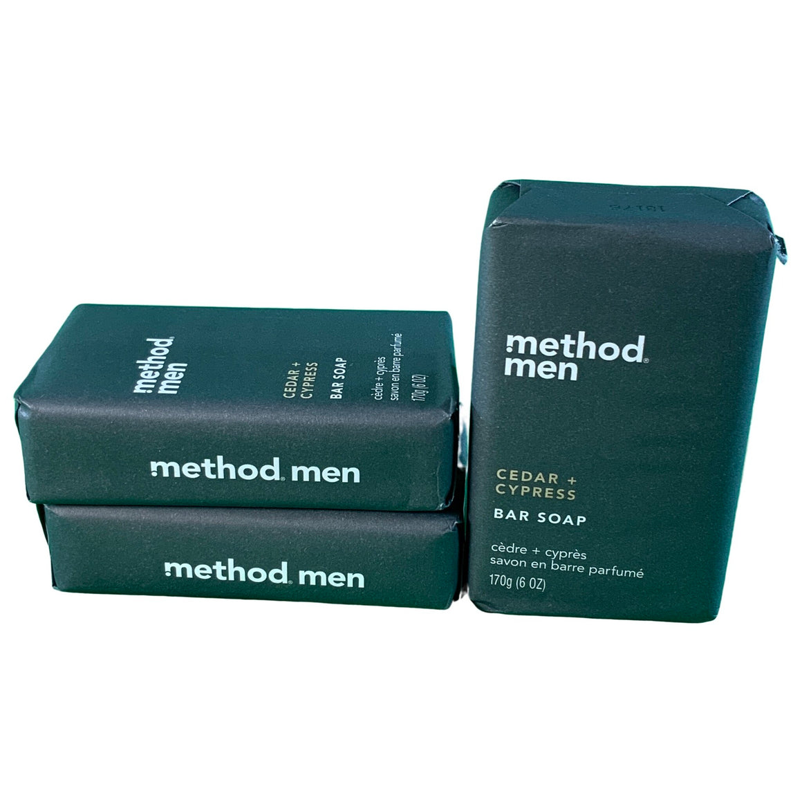 Cedar + Cyprus Bar Soap - 6Oz - Method Men'S