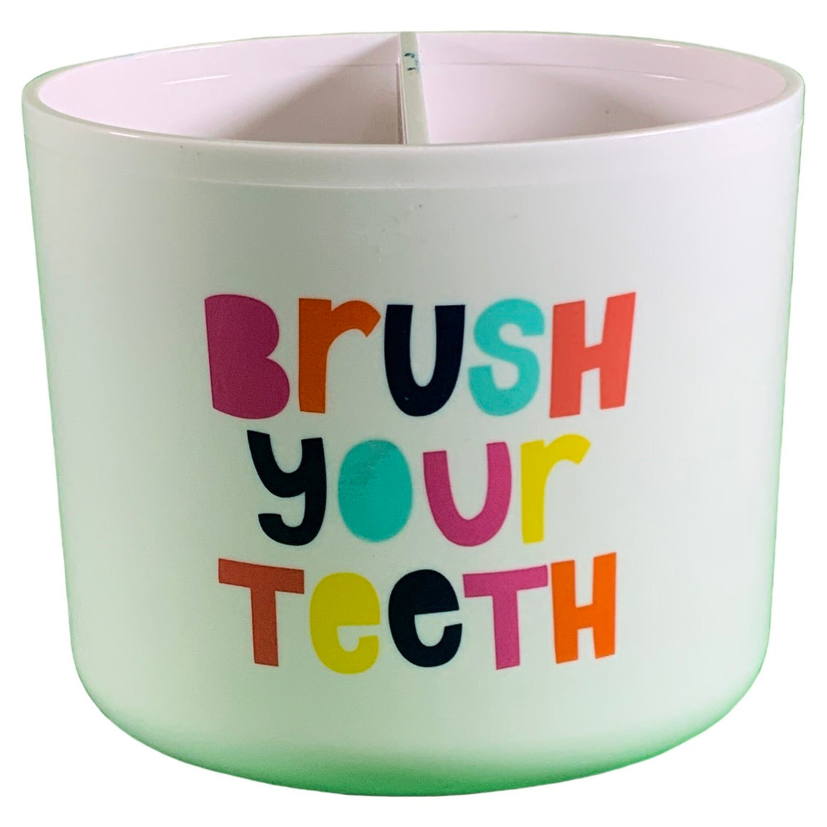 Brush Your Teeth Toothbrush Holder White - Pillowfort™