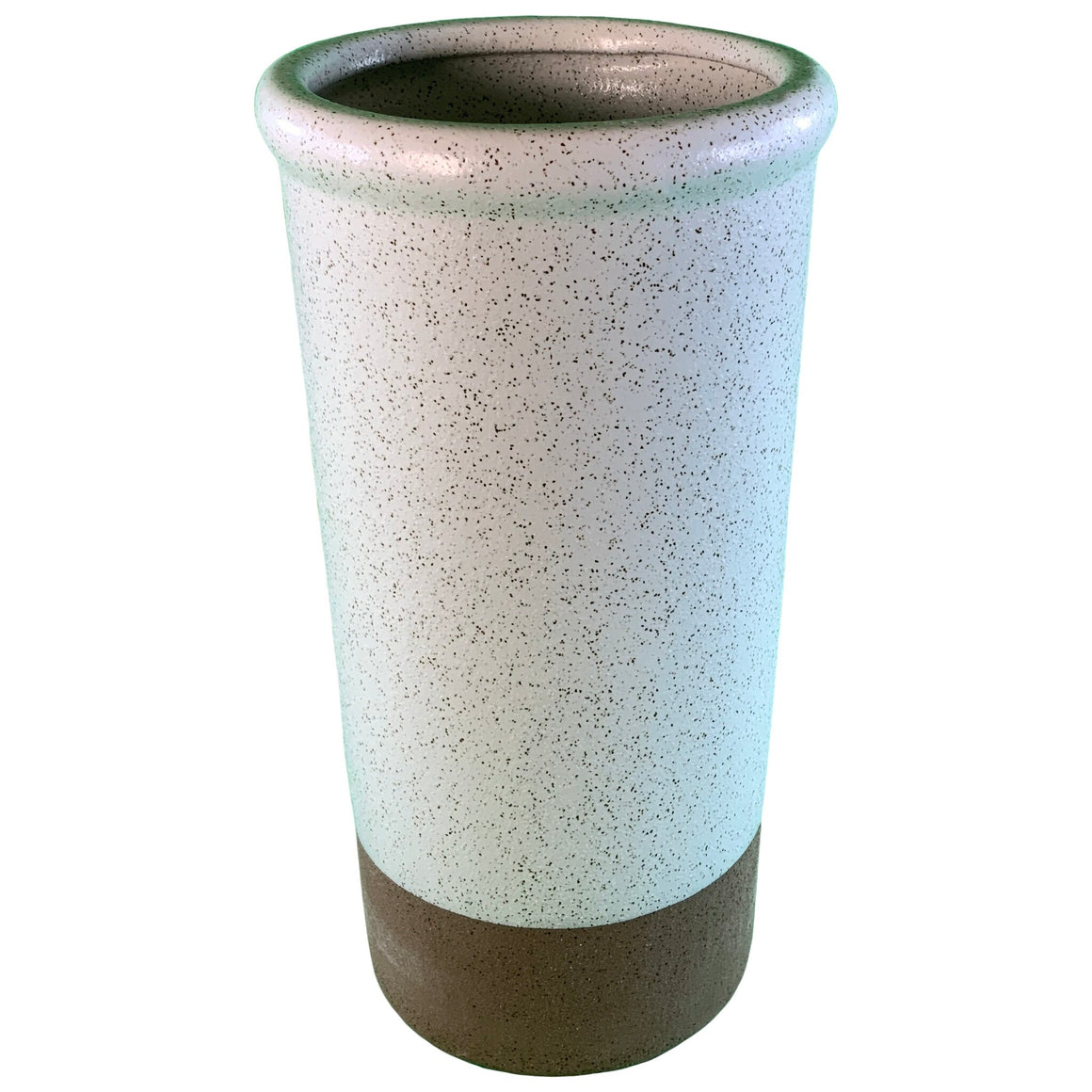 Stoneware Vase Speckled Glaze Large - Smith & Hawken™