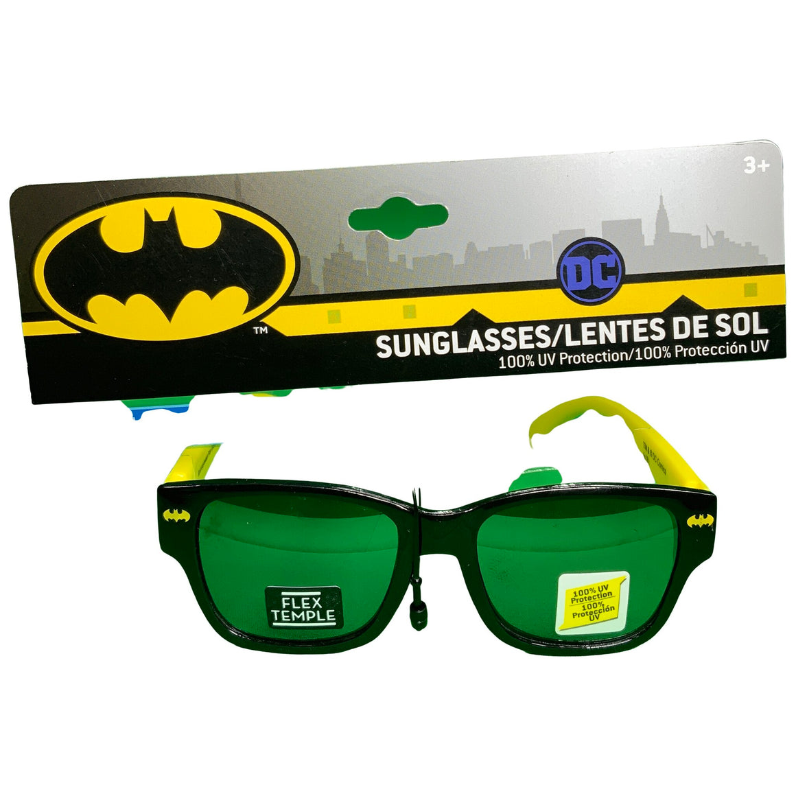 Boys' Batman Sunglasses - Yellow One Size -