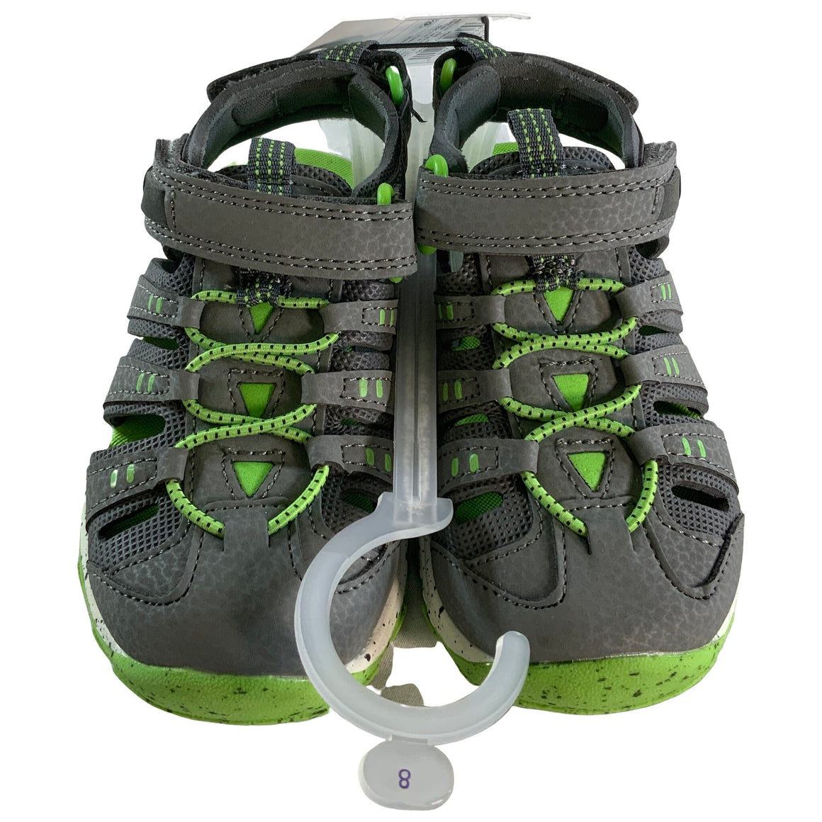 Toddler Boys' Howell Hiking Sandals - Gray 8 - Cat & Jack™