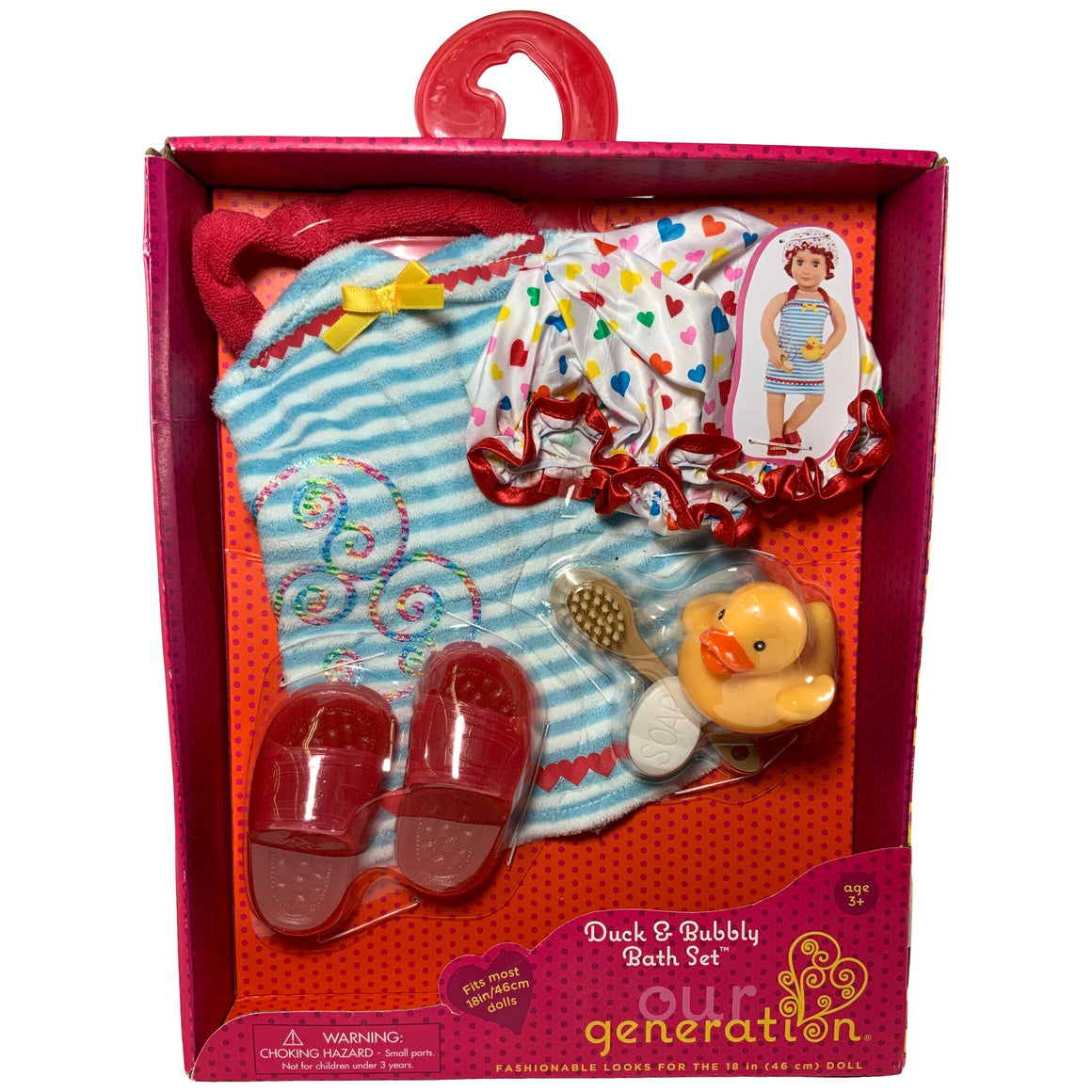 Our Generation - Duck & Bubbly Bath Set