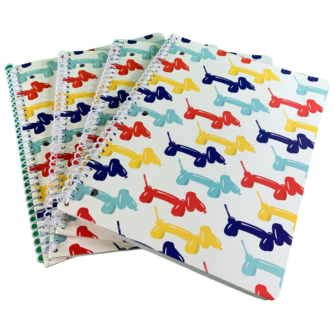 1 Subject Notebook - Balloon Dogs - Gartner Studios