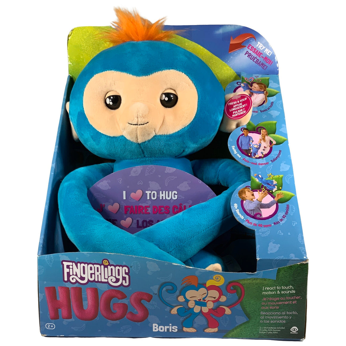 Fingerlings - Hugs