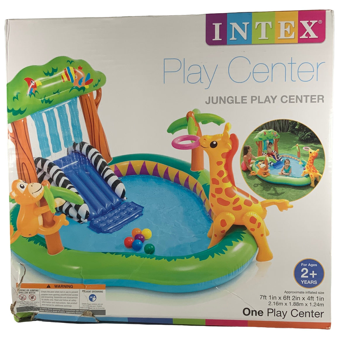 Intex - Jungle Play Cnter