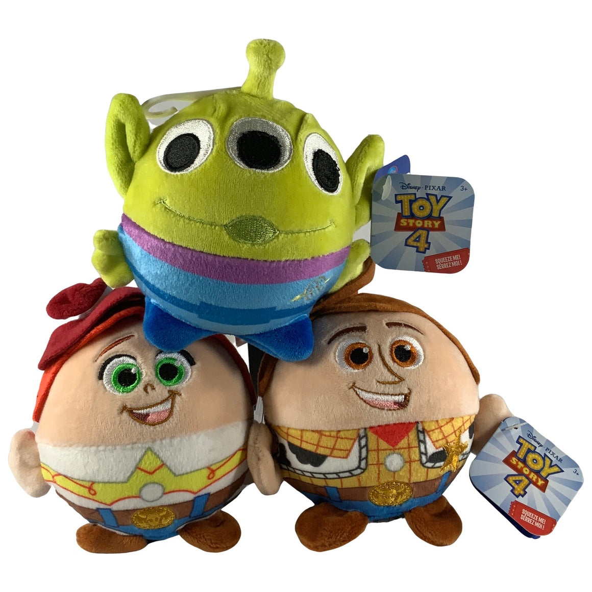 Just Play Disney - Toy Story 4 Woody, Jessie, Alien Les Aliens