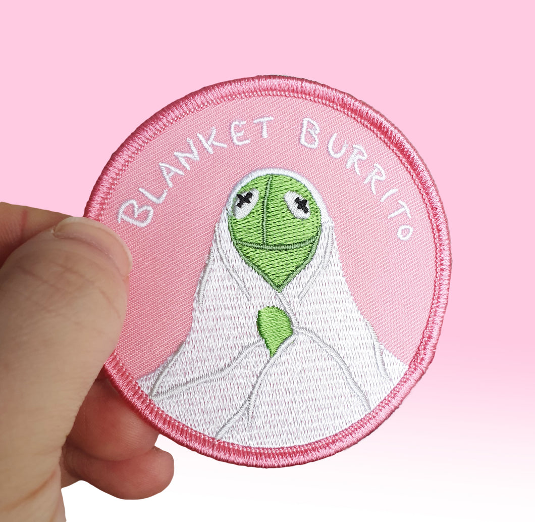 Kermit Embroidered Patches