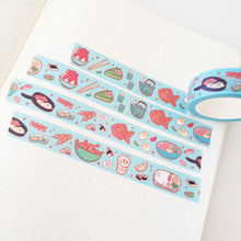 Load image into Gallery viewer, Japanese Food Original Art Washi Tape