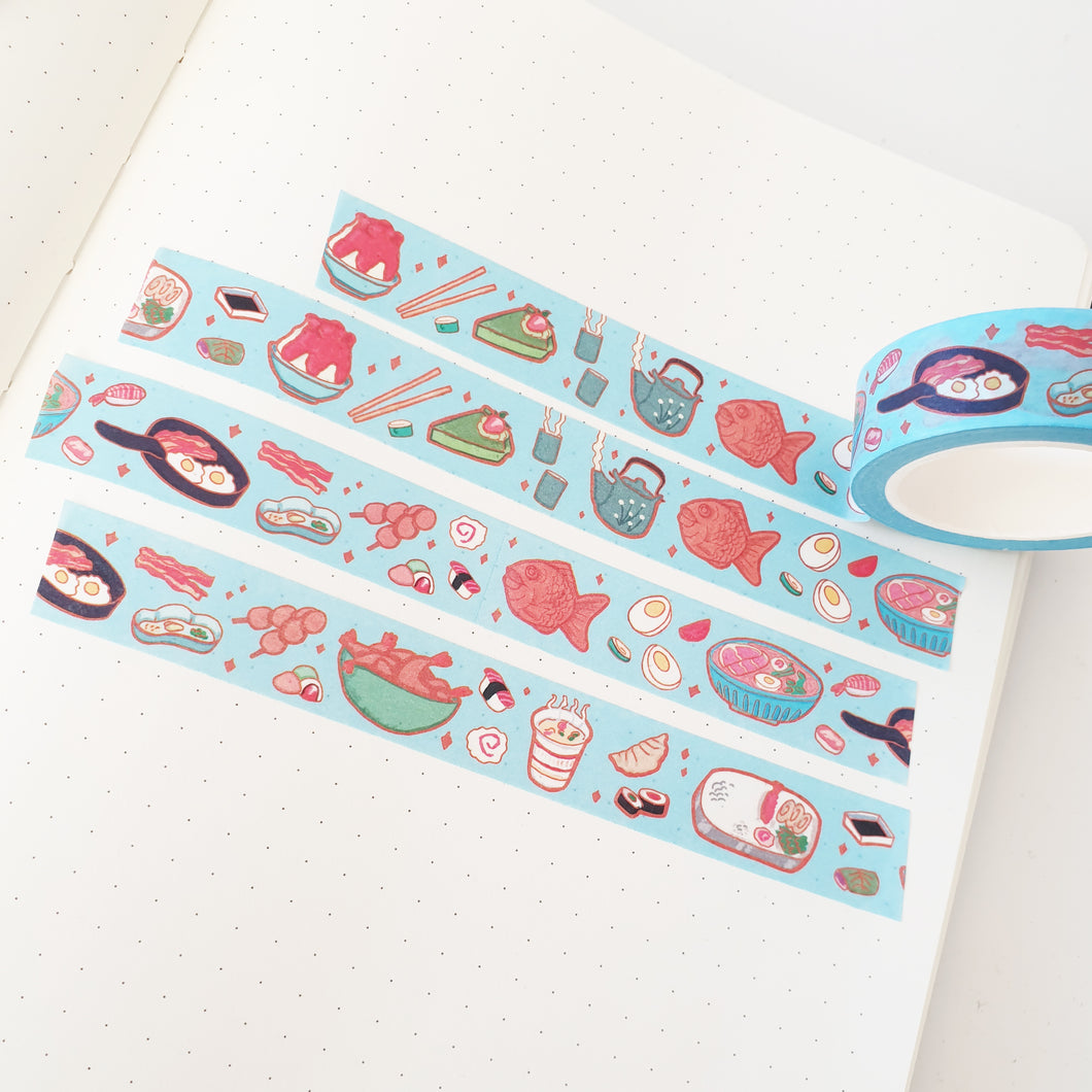 Japanese Food Original Art Washi Tape