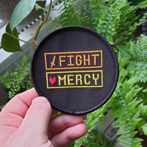 Fight Mercy Undertale Embroidered Patch