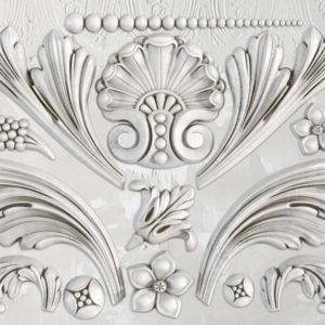 Acanthus Scroll 6×10 Decor Mould-Iron Orchid Designs IOD-ReVamp Vintage Market