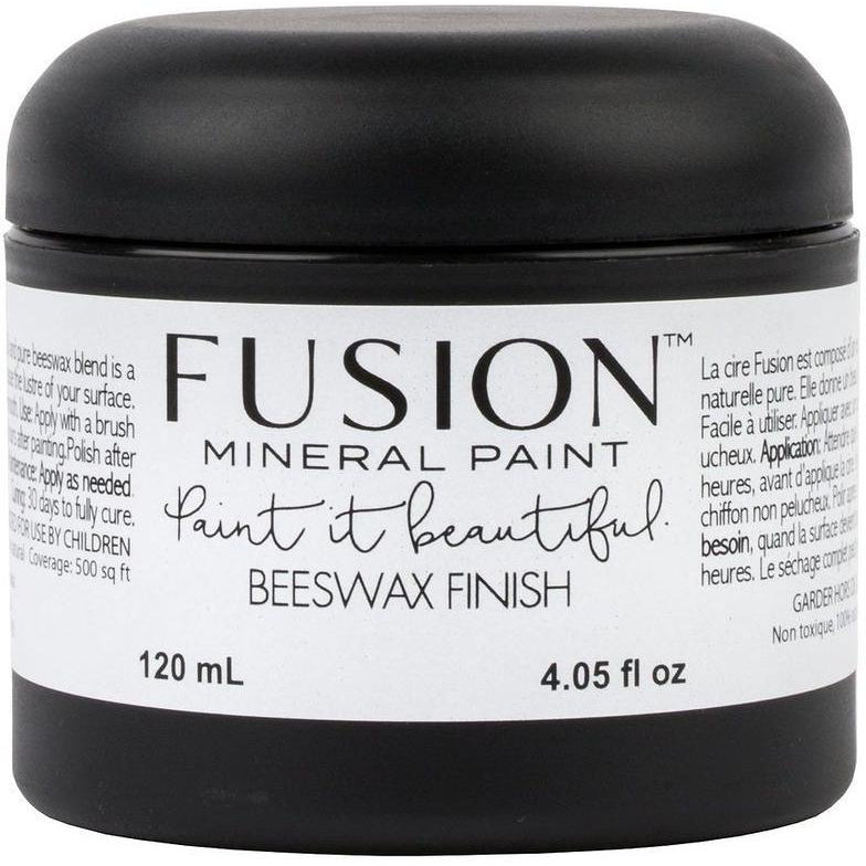 Beeswax Finish-Fusion Mineral Paint-ReVamp Vintage Market