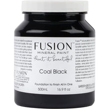 Load image into Gallery viewer, Coal Black-Fusion Mineral Paint-ReVamp Vintage Market