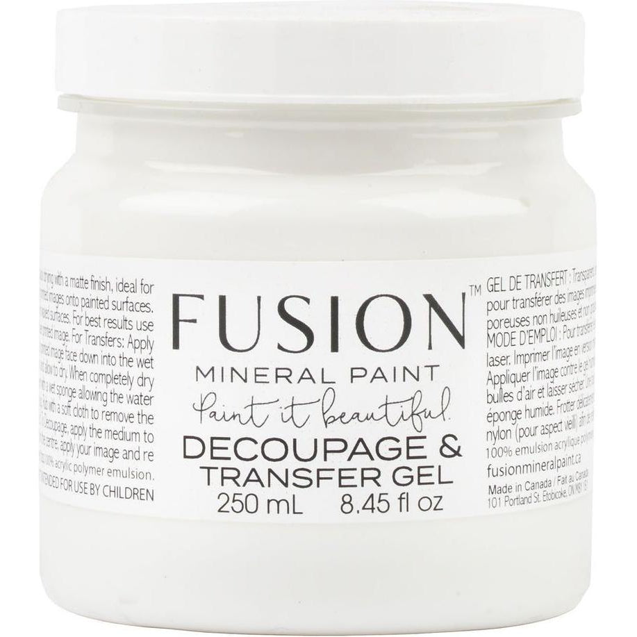 Decoupage & Transfer Gel-Fusion Mineral Paint-ReVamp Vintage Market