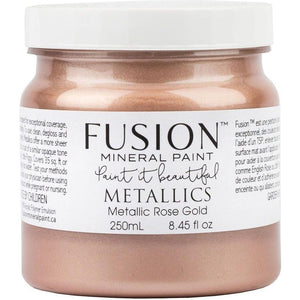 Metallic Rose Gold-Fusion Mineral Paint-ReVamp Vintage Market