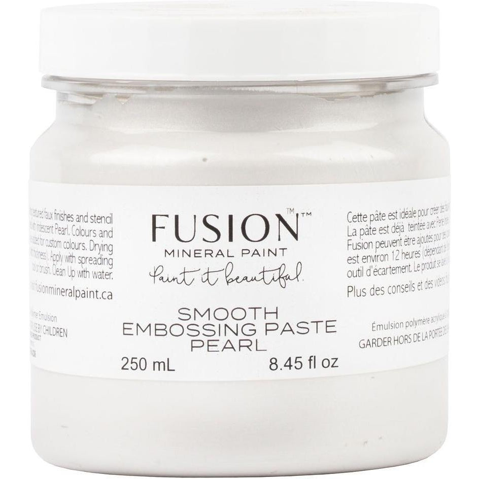 Smooth Embossing Paste-Fusion Mineral Paint-ReVamp Vintage Market
