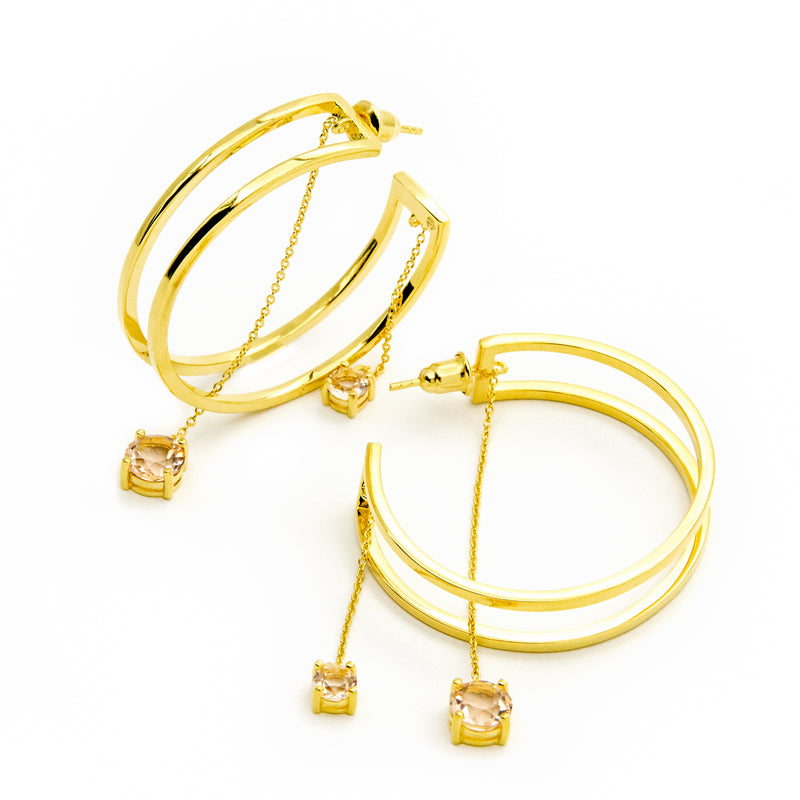 Classic Beauty Earrings - Gold - CVLCHA